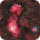 M8 and M20 in Sagittarius (Lagoon & Trifid Nebulae),                                Giambattista Rizzo