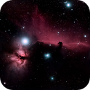 Horsehead and Flame,                                normmalin