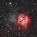 Trifid Nebula,                                404timc
