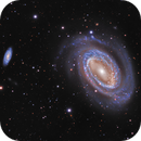 NGC 4725 A Barred Spiral in Coma Berenices,                                John Hayes