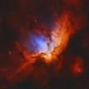 "The ""Crazy Magician"" NGC 7380,                                Stefan-Harry-Thrun"