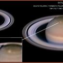 Saturno  2018-6-14 23:49,6 UT 1,5x Polar Storm,                                ortzemuga