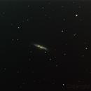 Cigar Galaxy (M82), no supernova,                                Charles R. Wright