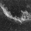 Network nebula Halpha: first light of G2 8300 CCD,                                Marco Favro