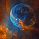 NGC7635 La nébuleuse de la bulle - Hubble Heritage Team - NHO,                                Séb GOZE