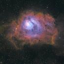 M8 Lagoon Nebula,                                ChrisG_BNE
