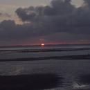 Sunset in Utersum/Föhr,                                Nico Neumüller