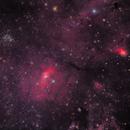 Bubble Nebula, M52, NGC 7538 Northern Lagoon,                                Pete Bouras