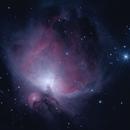 Orion Nebula & Running Man Nebula,                                lenart