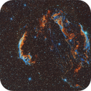 Veil Complex in Cygni - Old Style narrow band,                                Francesco Antonucci
