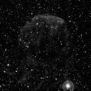 IC443 - Jellyfish Nebula - Evoguide ED50 - H-alpha,                                altazastro