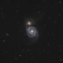 Whirlpool Galaxy (M51),                                Kevin Whiteside