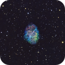M1 - The Crab Nebula in SHO,                                CrestwoodSky