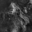 Pelican Nebula in Ha,                                Bob J