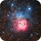 The Trifid Nebula,                                DiscoDuck
