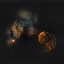 IC 443 Jellyfish Nebula Starless,                                Claudio Ulloa Saa...