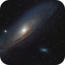 First Light with my new Scope, M31 - 50 minutes,                                Martl