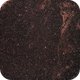 Veil (cirrus)-nebula in H-alpha with OSC ASI294MC-Pro,                                Doc_HighCo