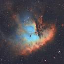 Pacman Nebula NGC281,                                Carastro