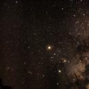 Mars and milkyway in Namibia June 2016,                                Stefan Baumgartner