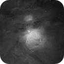 The Great Orion Nebula in H-alpha,                                Gabe Shaughnessy