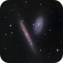 NGC 4302 and NGC 4298,                                Frank Colosimo