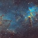 Heart of the Heart Nebula,                                Andrew Marjama