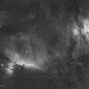 Orion's sword  (Ha),                                Nicolas Kizilian