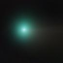 Close up of comet NEOWISE,                                avarakin