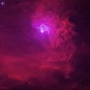Flaming Star Nebula,                                William Burns