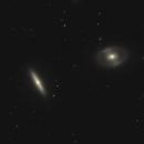 NGC 4340 & NGC 4350,                                Gary Imm