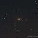 M104 - Sombrero Galaxy,                                Dario Iraci