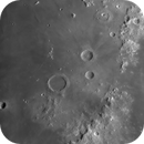 Archimedes crater,                                bubblewed
