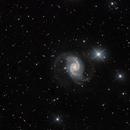 2018 - return of NGC1566,                                Andrew Lockwood