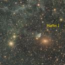 Maffei I and Maffei II galaxies,                                Giuseppe Donatiello
