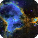 The Heart Nebula in SHO,                                Mostafa Metwally