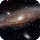 Galaxie Andromède,                                topcao