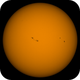 Coloured Sun , 31st March ,  2017 , 14:00 BST.,                                steveward53