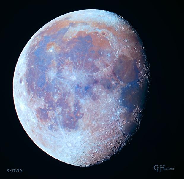Lunar Colors,                                Gordon Hansen