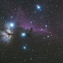 Barnard 33 (The Horsehead Nebula) NGC 2024 (The Flame Nebula / Sh2-277) NGC 2032  IC 435 IC 432 IC 431,                                Brian Sweeney