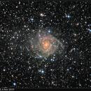 IC 342, LRGB, 6 Nov 2019,                                David Dearden