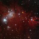 NGC 2264 L RH GB,                                Dirk Kligge