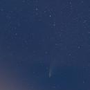 Comet C/2020 F3 (NEOWISE) , Meteor, Firefly and Aeroplane !,                                thakursam