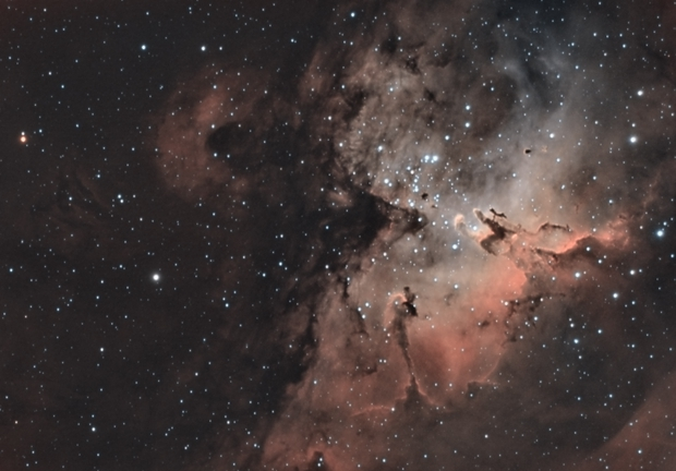 Pillars of Creation in Bicolor,                                Stacy Spear