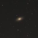 Black Eye-Galaxy Messier (M) 64 im Sternbild Haar der Berenike (Coma Berenices),                                astrobrandy