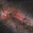 Constellation Cygnus in a Sea of Stars,                                Markus Bauer