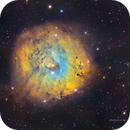 Sh2-170 Little Rosette Nebula details in SHOrgb,                                Jose Carballada
