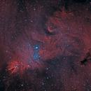 NGC 2264 en HOO,                                kaeouach aziz
