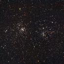 NGC 869 e 884 Perseus 26 Settembre 2016,                                Ennio Rainaldi