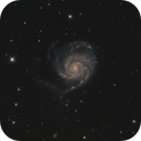 M 101 - The Pinwheel Galaxy,                                Marius Bednar